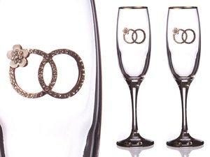 Набор бокалов для шампанского 802-510632 из 2 шт. 170 мл.