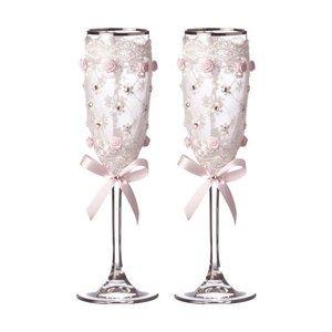 Набор бокалов для шампанского 802-651020 из 2 шт. 170 мл
