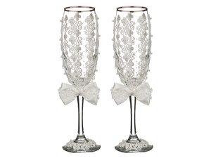 Набор бокалов для шампанского 802-651033 из 2 шт. 170 мл