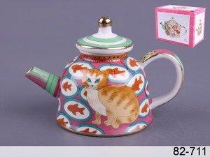 Чайник декоративный 82-711 7*10*6 см 100 мл
