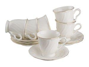 Чайный набор 82-774 на 6 персон 12 пр. 250 мл
