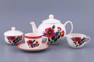Чайный сервиз 869-005 на 6 персон 17 пр.