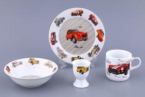 Набор посуды дет. 87-058 Авто 4 пр.
