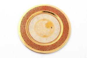 Тарелка декоративная 877-130 диаметр 19 см без упаковки