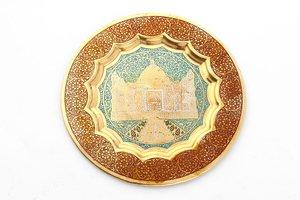 Тарелка декоративная 877-132 диаметр 19 см без упаковки