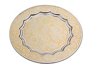 Тарелка декоративная 877-217, диаметр 24 см