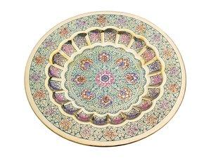 Тарелка декоративная 877-223, диаметр 19 см