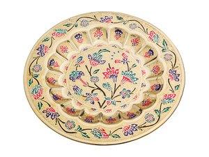 Тарелка декоративная 877-232, диаметр 24 см