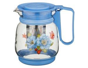 Заварочный чайник 885-058 с жестким фильтром 1100 мл