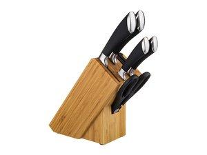 Набор ножей 911-018 6 пр. на деревянной подставк