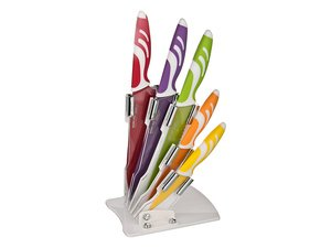 Набор ножей 911-505 на складывающейся подставке 6 пр.