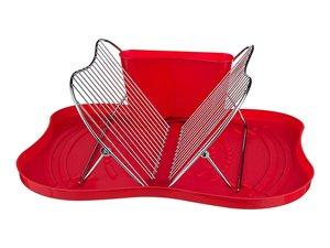 Подставка для посуды 917-016 настольная + поддон 44*35*18 см