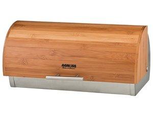 Хлебница 938-022  с деревянной крышкой 36*21*17 см