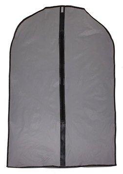 Чехол для одежды 565763 102*61 см серый