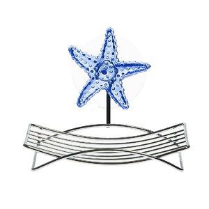 Мыльница, на присосках 3566 'Морская звезда' 12x9см