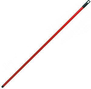Палка  для швабры М 5145К красная 120см