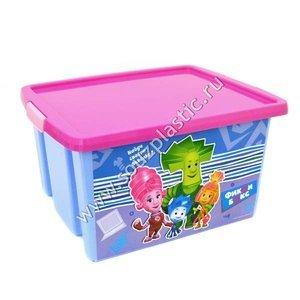 Ящик для игрушек С48022 Фиксики 30 л