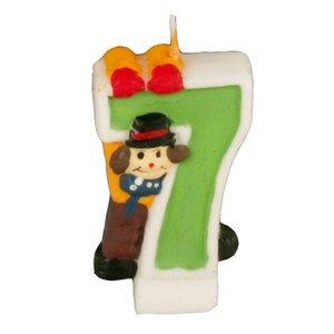 Свеча в торт 19417 Клоун  7