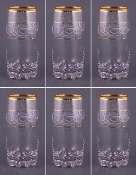 381-162 набор стаканов Сильвана по 400мл
