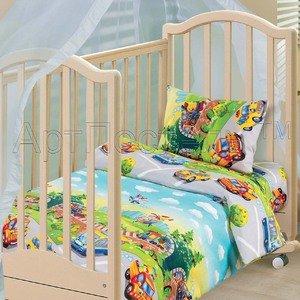 Детский парк комплект белья в кроватку Артпостелька