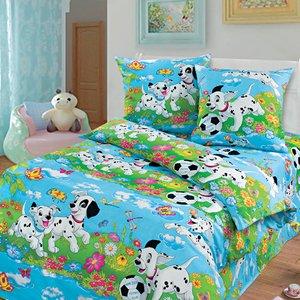 Далматинцы грунт.  детское постельное белье Арт постель