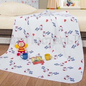 Детское одеяло-покрывало Кнопочка Артпостель
