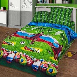 Детское постельное белье из бязи Матч Артпостель