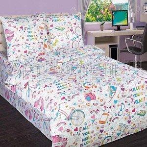 Детское постельное белье из поплина Модные штучки артпостель