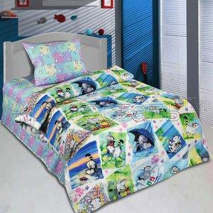 Мурзики детское белье в кроватку Артпостель