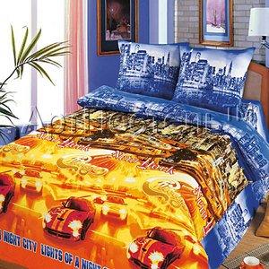 Ночной город постельное белье из бязи Арт постель