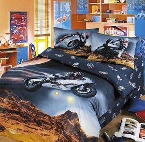Париж Дакар детское постельное белье Артпостель