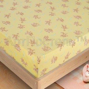 Попрыгунчик наволочки, простыня на резинке в кроватку Артпостель