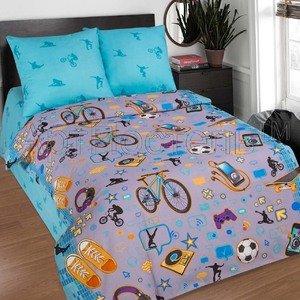 Детское постельное белье из поплина Тинейджер Артпостель