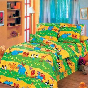 Алфавит детское постельное белье Артпостелька