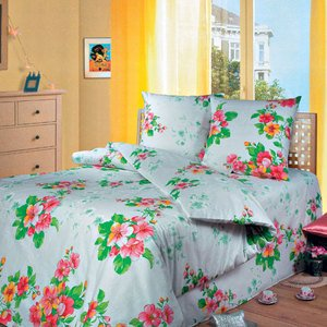 Яблоневый цвет бз постельное белье Артпостель бязь