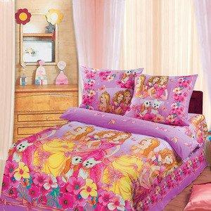 Красавицы Барби розовый постельное белье Артпостель