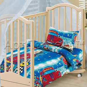 Ралли детское белье в кроватку Арт постель
